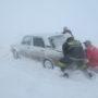 Трассу «Алматы-Ташкент» занесло снегом
