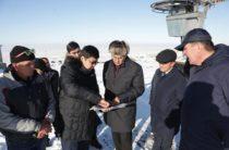 Горнолыжным курортом, строящимся в живописном районе Жамбылской области, заинтересовались россияне