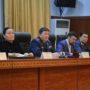 Представители информационно-агитационного штаба встретились с личным составом Департамента полиции Жамбылской области