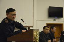 Жамбылские полицейские встретились со студентами юридического факультета