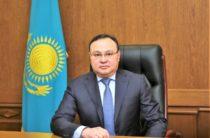 Руководителем аппарата акима Жамбылской области назначен Алмас Мадиев