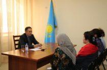 О чем говорили с Аскаром Мырзахметовым граждане в ходе приема по личным вопросам