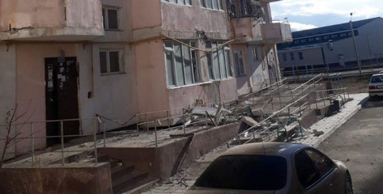 Дома и дороги в Таразе рушатся из-за системы госзакупок