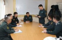 Завершилась войсковая стажировка магистрантов Национального университета обороны
