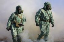 Полевой выход воинов-химиков