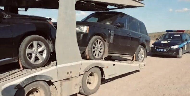 Жамбылские полицейские задержали угнанный автомобиль