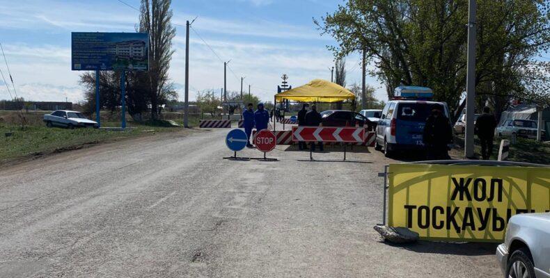 На 12,8% снизили число дорожно-транспортных происшествий полицейские Жамбылской области