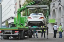 30 водителей оштрафовали полицейские Тараза за незаконную парковку