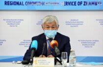 Куда позвонить для получения медконсультации, почем маски и сколько заболевших — рассказал Бердибек Сапарбаев