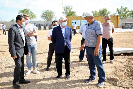 100 домов для нуждающихся семей возведут методом асар в Жамбылской области