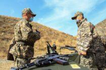 На полигоне Матыбулак в Жамбылской области завершилось оперативно-тактическое командно-штабное учение «Алдаспан-2020»