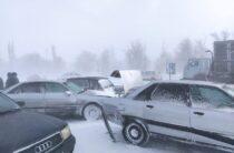 Более 50 человек спасли из снежных заносов в Жуалах Жамбылской области