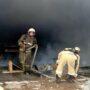 Газовый баллон взорвался на комбикормовом заводе в Жамбылской области, пострадали рабочие