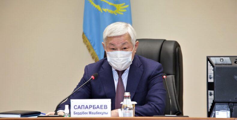 30-летие Независимости нужно встретить высокими трудовыми показателями — Бердибек Сапарбаев