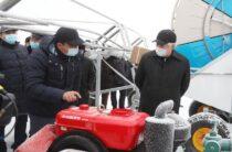 Жамбылские аграрии осваивают новые технологии орошения