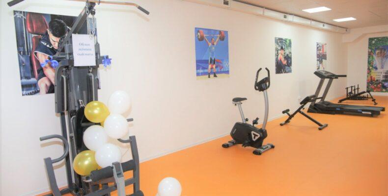 В канун Нового года в Отаре открылся спортивно-оздоровительный комплекс