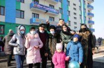 120 кордайских семей справили новоселье в канун Нового года