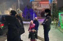 Об обеспечении безопасности детей в новогодние праздники рассказали жамбылские полицейские