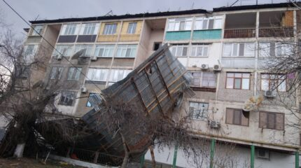 ФОТОФАКТ  — что ураган натворил в Таразе