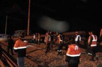В Жамбылской области поезд сошёл с рельсов