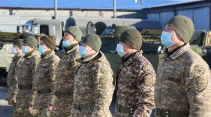 Марш химиков прошел в Жамбылской области