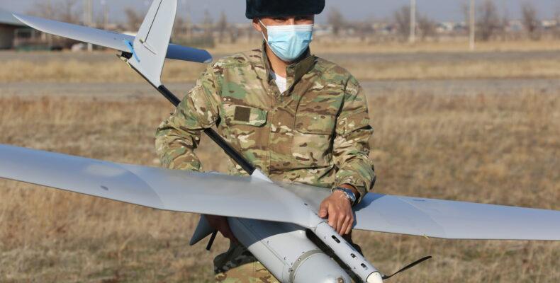 Управлять беспилотниками учились военнослужащие в Жамбылской области