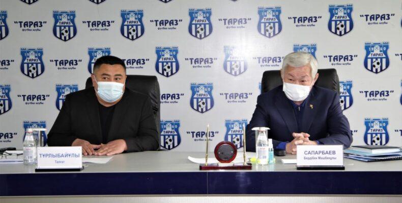 Бердибек Сапарбаев поздравил «Тараз» с первой победой в чемпионате