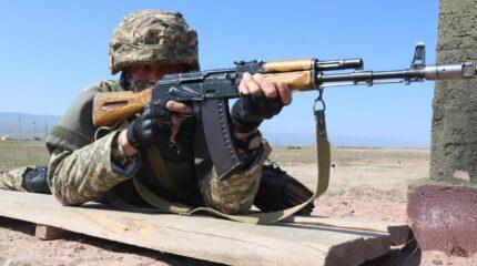 Региональное командование «Юг» экзаменуют