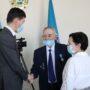 Ветерана службы ЧС Станислава Макаров чествовали в Жамбылской области