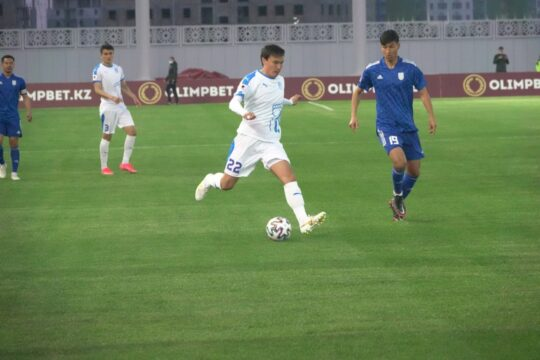 Трудовая победа ФК «Тараз» — 1:0 в Туркестане