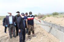Бердибек Сапарбаев раскритиковал ход реконструкции водохозяйственных объектов в Жамбылской области
