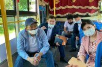 Впервые за годы Независимости в городской округ ступила нога акима