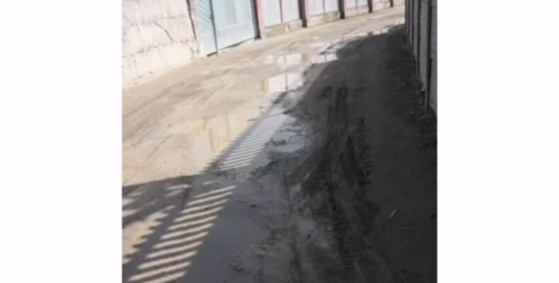В каком состоянии находится улица народного писателя в Жамбылском районе?