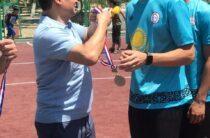 Турнир по футболу прошел в новом парке «Денсаулық» в Таразе
