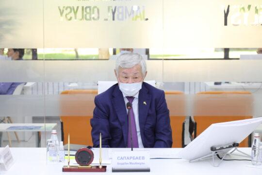 Узнать, что волнует жамбылских предпринимателей, поручил Бердибек Сапарбаев