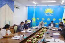 Партия «Nur Otan» взяла на контроль дефицит поливной воды и кормов в Жамбылской области