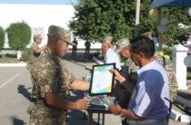 Солдат-срочников провожают домой из РгК «Юг»