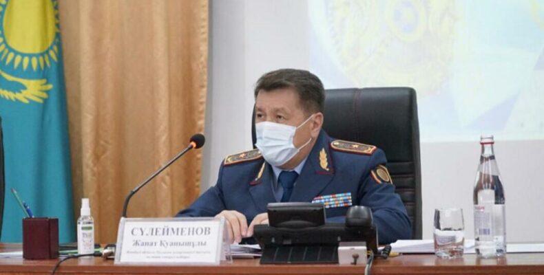 В ДП Жамбылской области подвели итоги полугодия