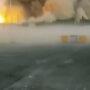 От взрывов на военных складах пострадал магазин возле АЗС в Байзакском районе