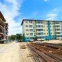 Жилые дома для работников биофармацевтического завода строят в Кордайском районе