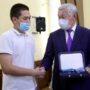 Семьям погибших спасателей в Жамбылской области вручены государственные награды