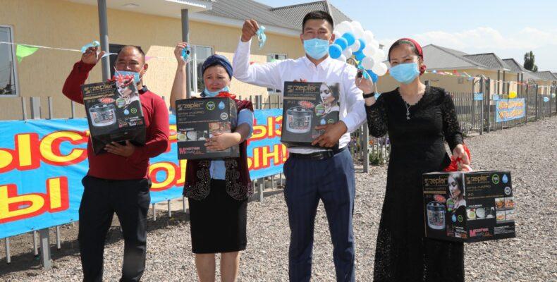 Новые социальные объекты открыли в Кордайском районе
