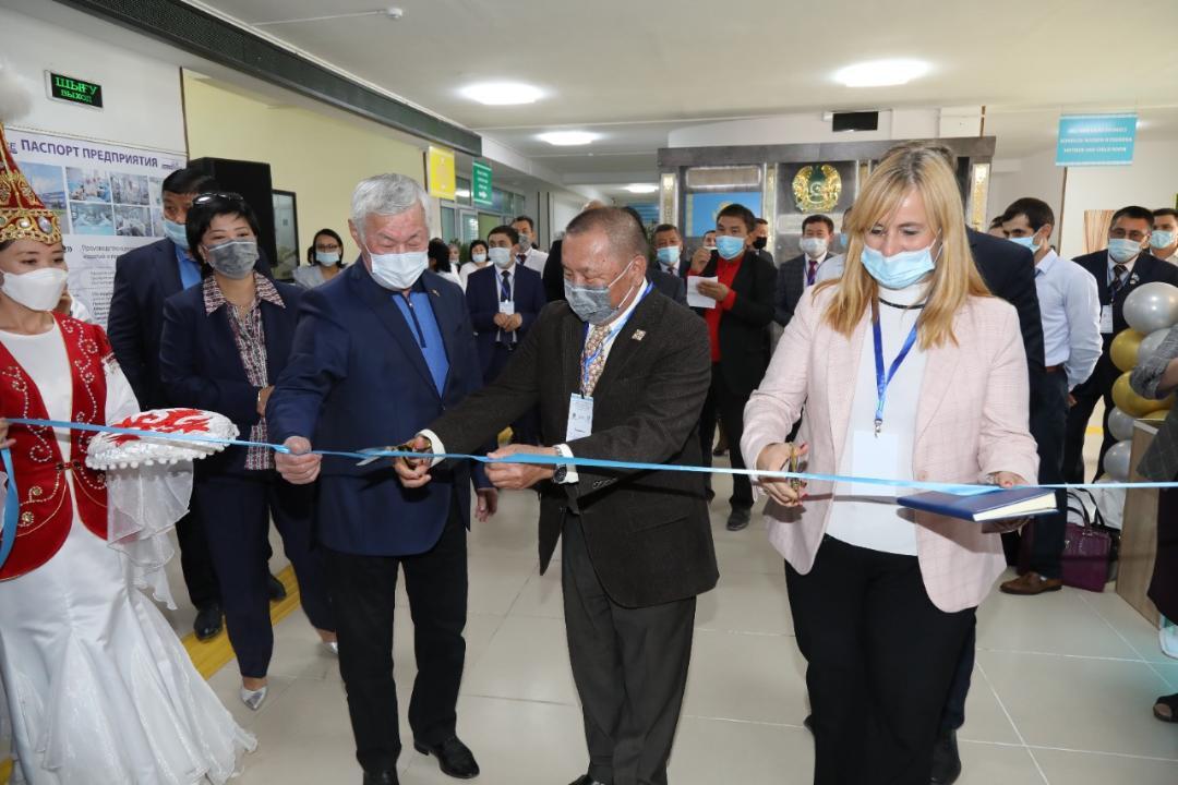 Открытие ЦЛП в Жамбылской области с участием делегации ВОЗ