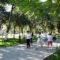 Делегация ВОЗ оценила таразский парк «Здоровье»