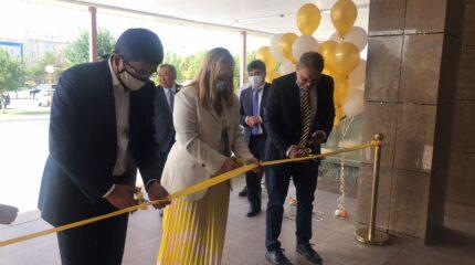 Тараз қалалық №5 емханада алғашқы медициналық көмек көрсету бойынша үздік тәжірибе орталығы ашылды