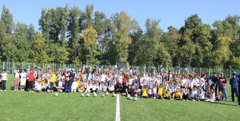 Фестиваль футбола прошел в Таразе