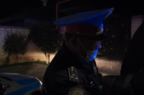 Владельцев авто с тонировками наказывает жамбылская полиция