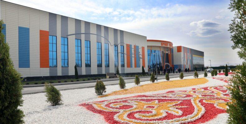 Центр тенниса и гимнастики построили в Таразе