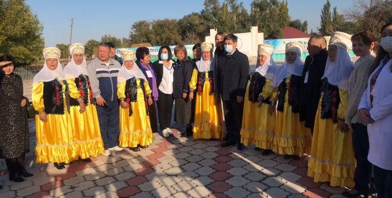 Статус «Здоровое село» получили два населенных пункта в Жамбылской области
