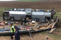 Трагедия на трассе в Кордае — 11 погибших